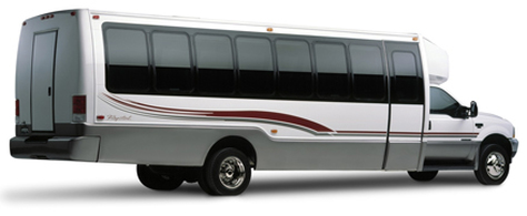Luxurious VIP party bus rental service