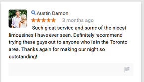testimonial 3 for party bus toronto vip
