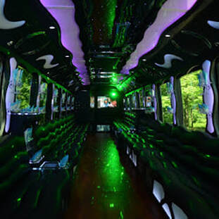 stretch party bus suv